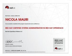 Nicola Mauri - openstack certificate_0